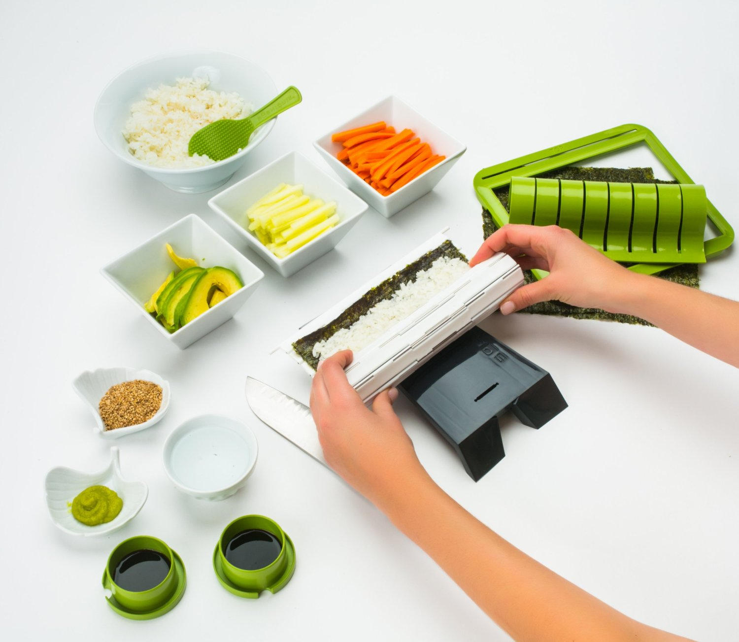 Sushiquik Sushi Making Kit 5
