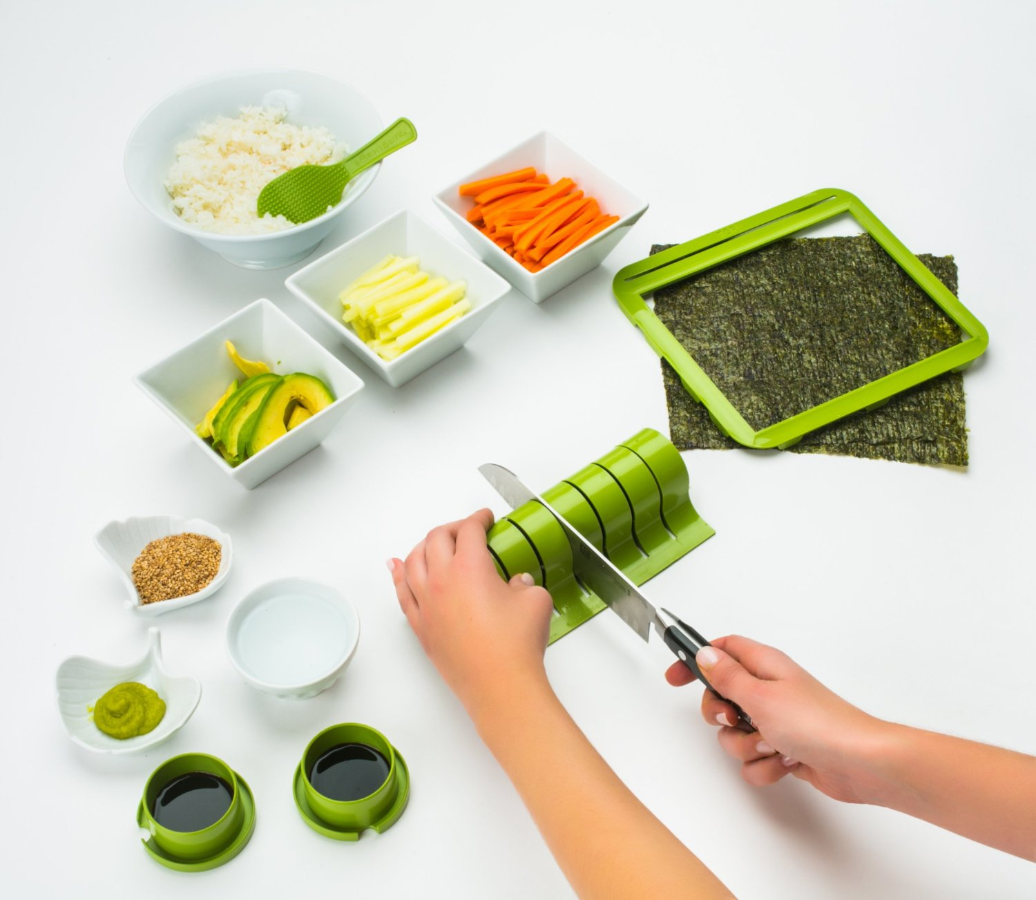 Sushiquik Sushi Making Kit 7