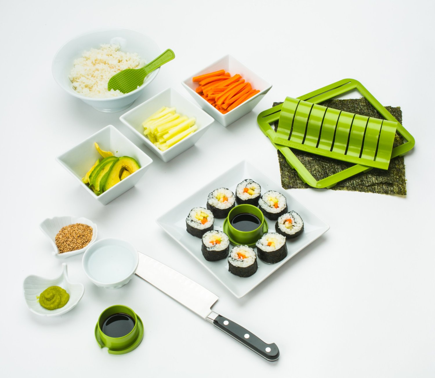 Sushiquik Sushi Making Kit 8
